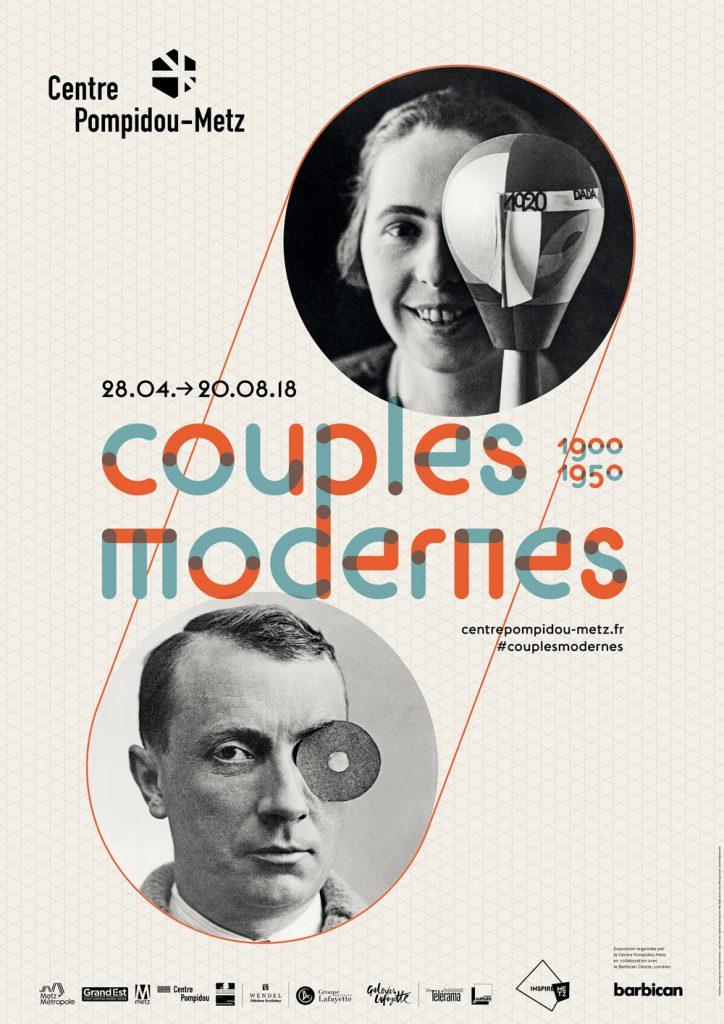 Couples modernes, la vie, l'art et l'amour