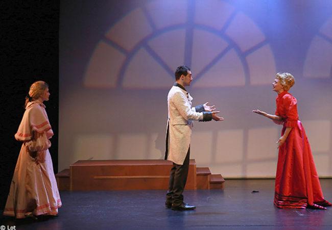 Au Mois Molière, la savoureuse adaptation par Thomas Le Douarec de L'idiot de Dostoïevski.