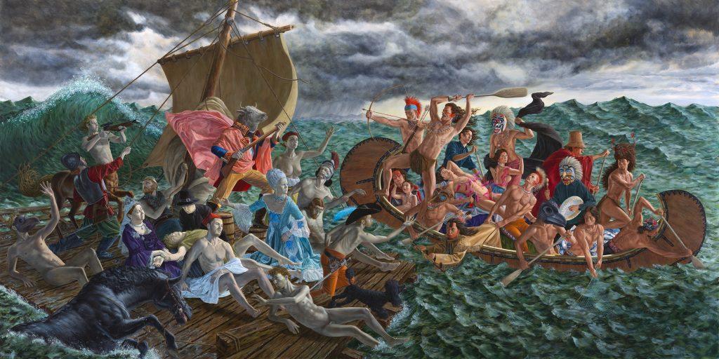La Belle et la Bête : l'exposition de Kent Monkman au Centre culturel canadien, Paris