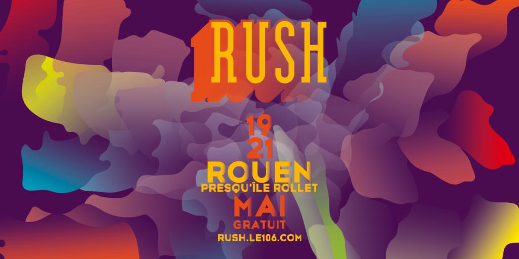 Rush Festival – Presqu'île Rollet Rouen : Bord de Seine et grand soleil, conférences, dance-floor et grosses pointures
