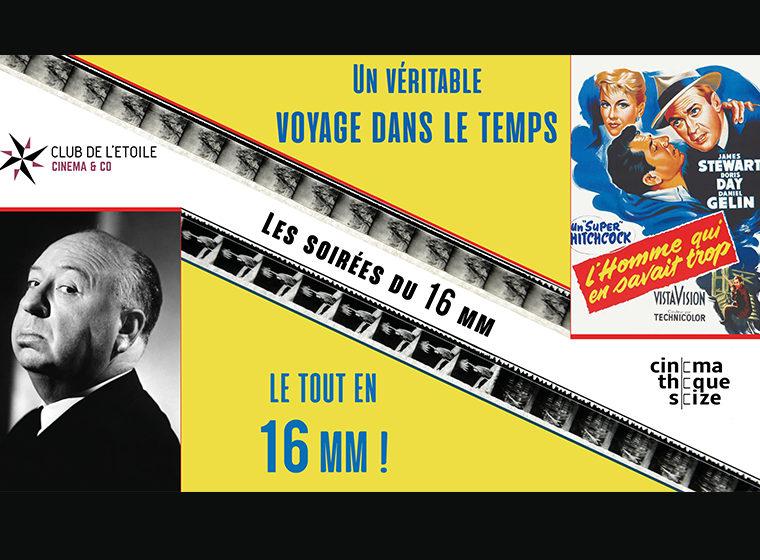 Gagnez 5×2 places pour la Soirée 16 mm: Hitchcock (17/06/2018)
