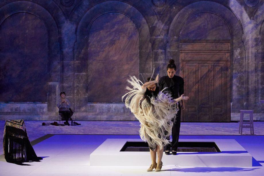 «Grito Pelao», Rocío Molina in utero au Festival d'Avignon
