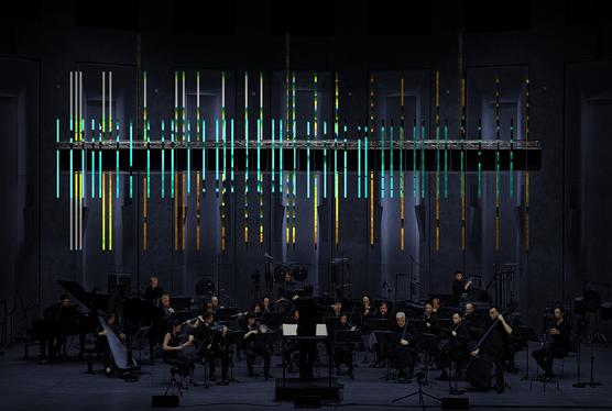 «From Within» création entre sacré, instruments, lumières et electronica par l'Ensemble Intercontemporain