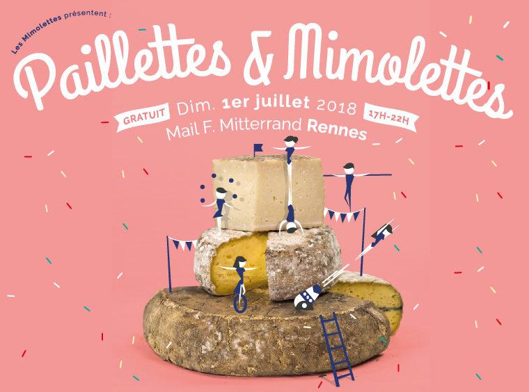 Gagnez 5×1 tote-bag à l'effigie du festival «Paillettes & Mimolettes»