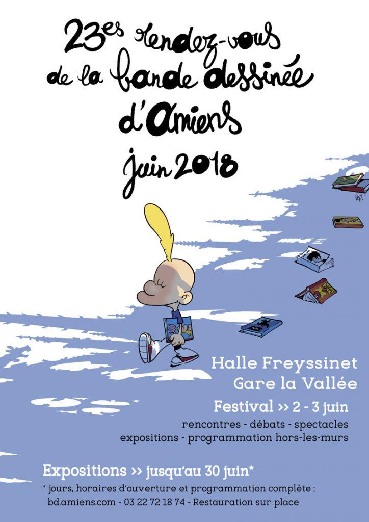 23es Rendez-vous de la bande dessinée d'Amiens, un festival qui déborde des cases