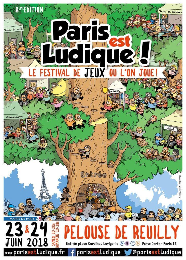 Festival Paris est Ludique ! : monde de jeux