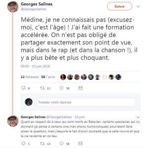 Tweet du père d'une des victimes de l'attentat