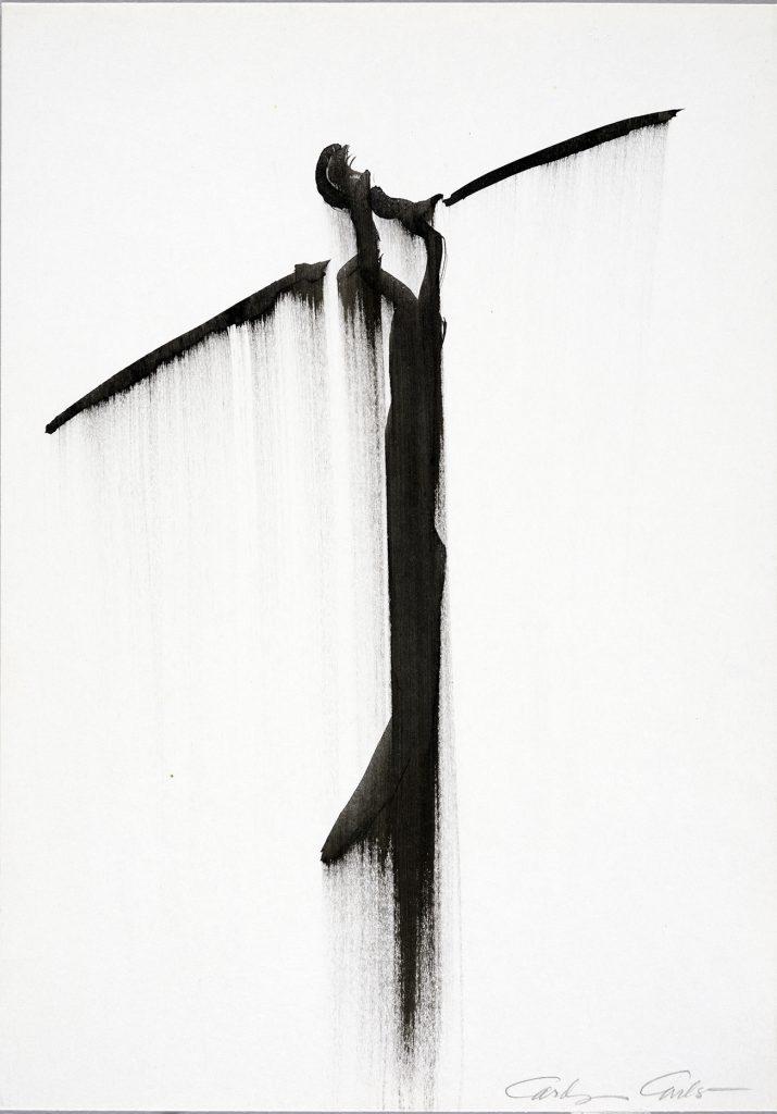 Carolyn Carlson : une superbe exposition de ses dessins à la Galerie du Jour Nomade, chez Agnes b