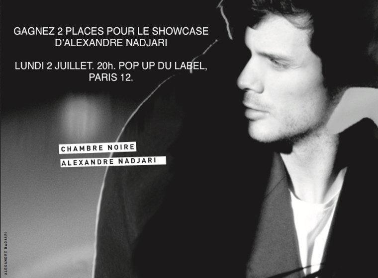 Gagnez 5 x 2 places pour le Showcase d'Alexandre Nadjari + 1 EP