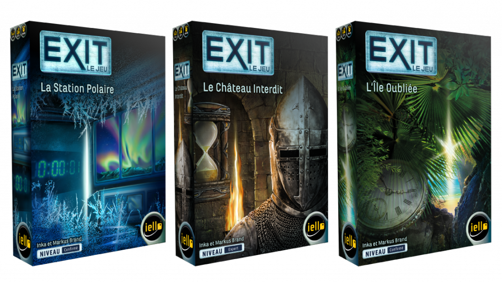 « Exit » : escape games à domicile