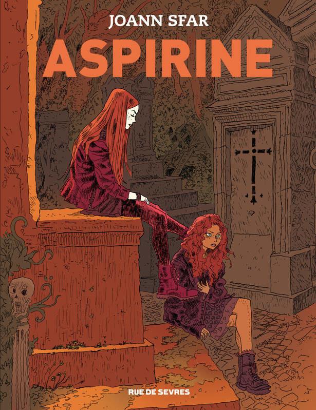 La nouvelle héroïne de Joann Sfar est rousse et s'appelle «Aspirine»