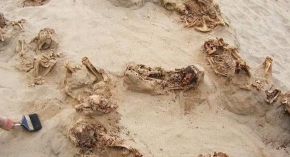 Pérou : des corps d'enfants sacrifiés découverts sur un site archéologique du nord du pays