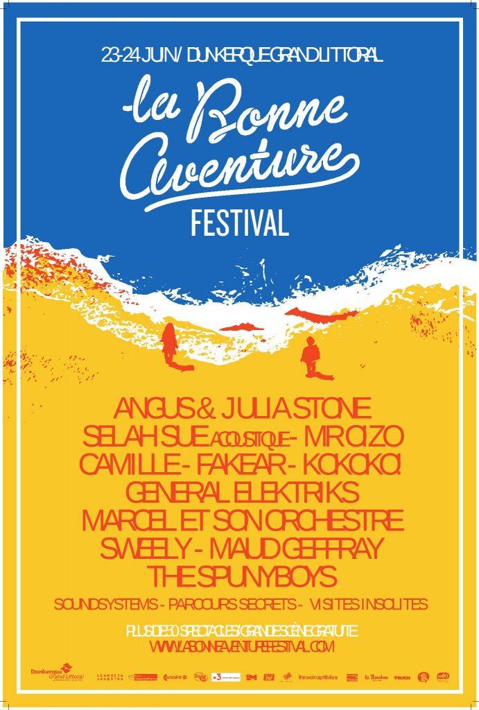Gagnez 3×2 places pour la soirée au Klub du Festival de La Bonne Aventure (Dunkerque)