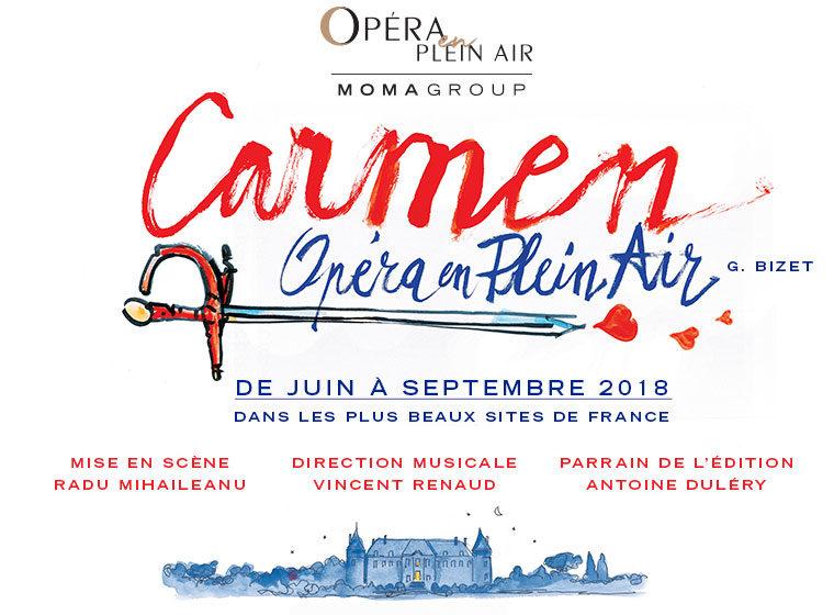 Gagnez 2×2 places pour la représentation de Carmen de Bizet au Château de Vincennes le 30 juin