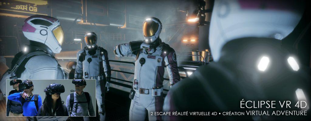 Escape Lab : Mission Eclipse VR 4D [escape game]