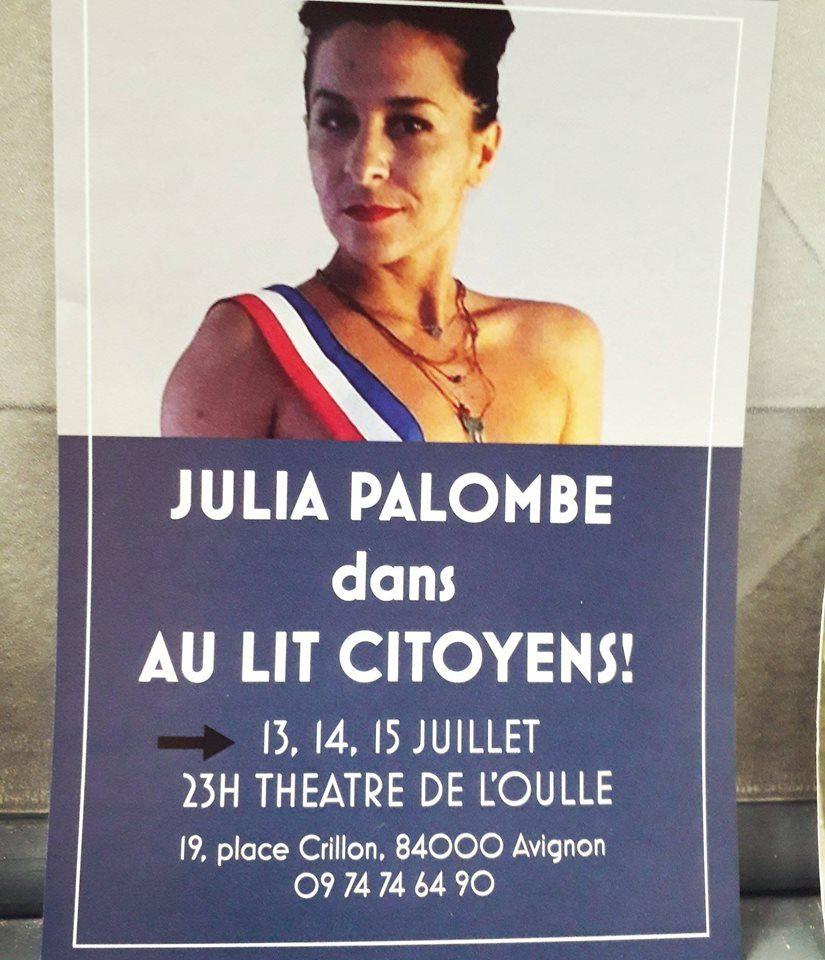 «Au lit, citoyens !» La tournée électorale de Julia Palombe passe par Avignon