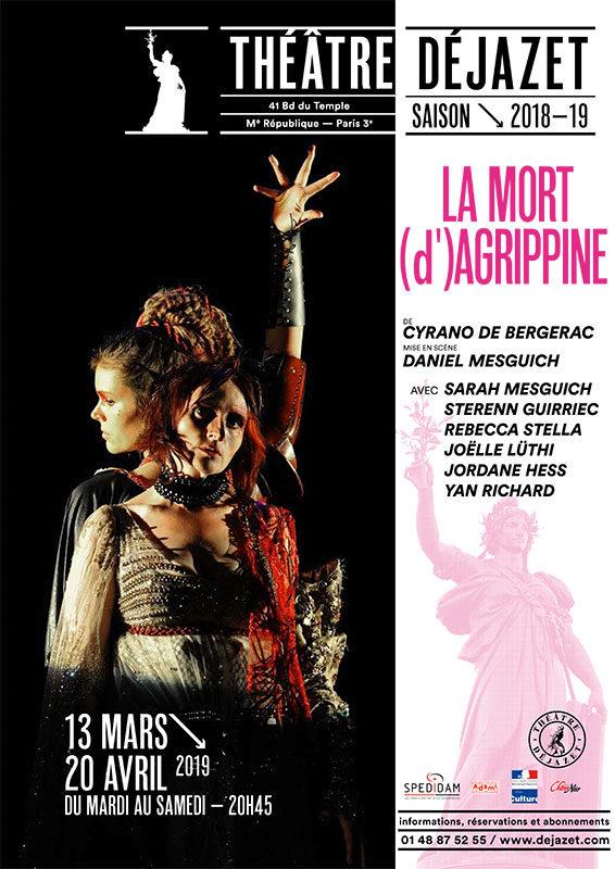 Daniel Mesguich à son oeuvre avec «La Mort d'Agrippine» de Cyrano de Bergerac