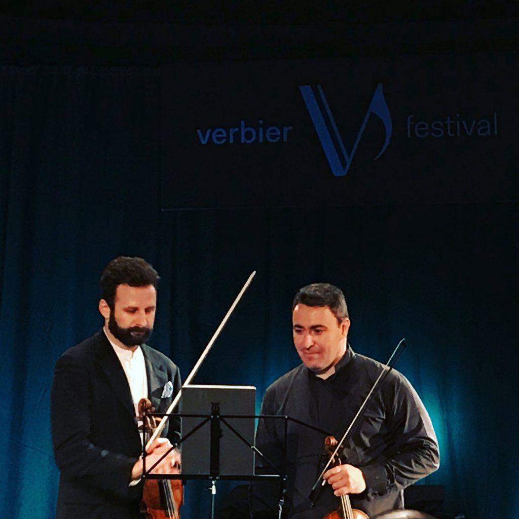 Maxim Vengerov et Ilya Gringolts, deux violons pour un dimanche intense à l'Eglise de Verbier