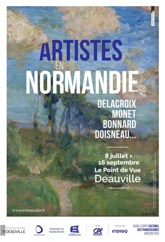 «Artistes en Normandie», falaises, plages et bocages