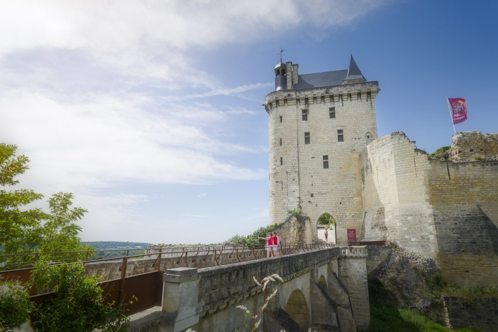 La cité royale de Loches et la forteresse royale de Chinon : de nouveaux parcours de visite à découvrir