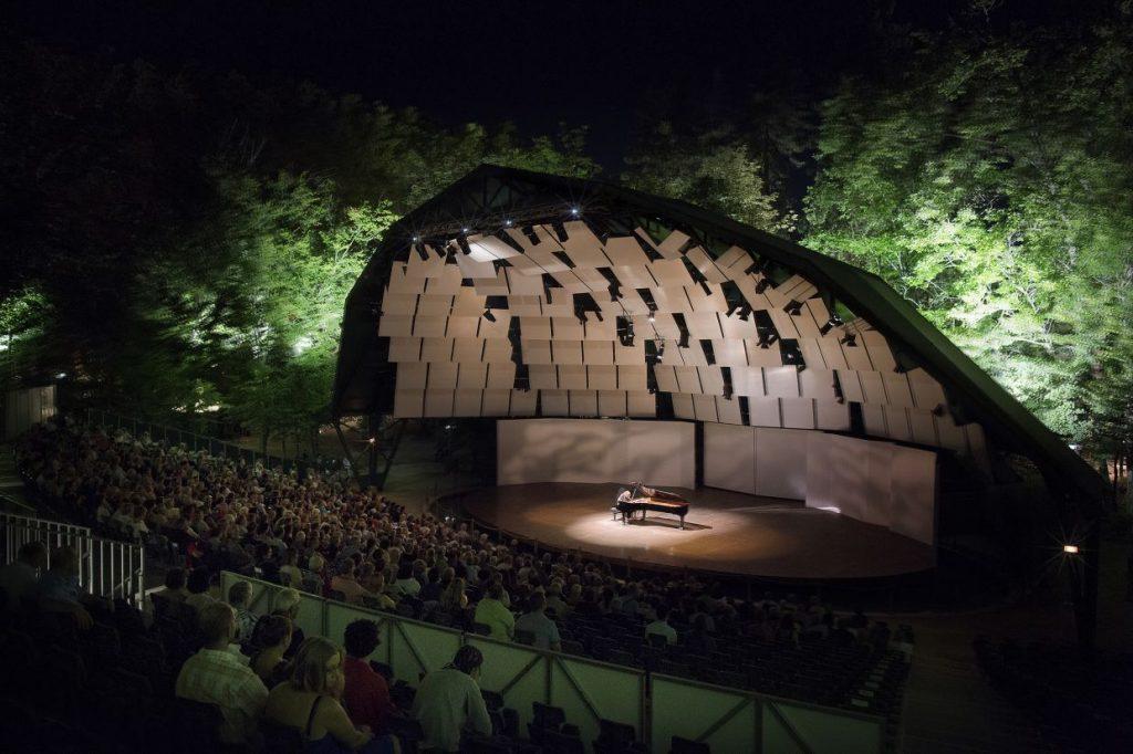 Festival international de piano La Roque d'Anthéron: Éliane Reyes et Jean Rondeau