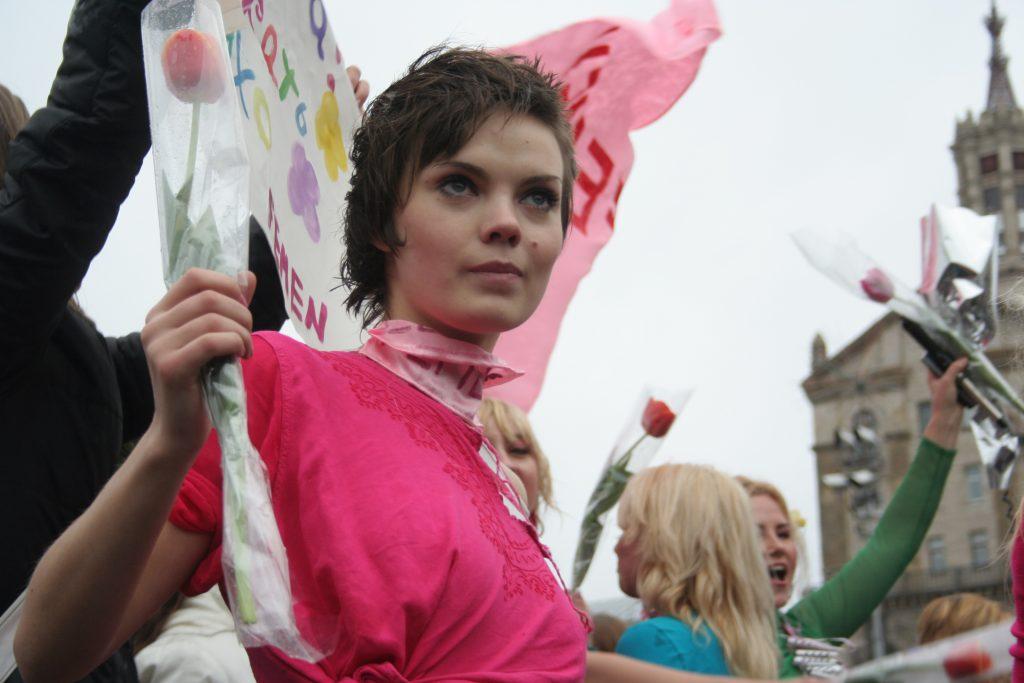 Oksana Chatchko, cofondatrice du groupe des Femen s'est donné la mort à Paris