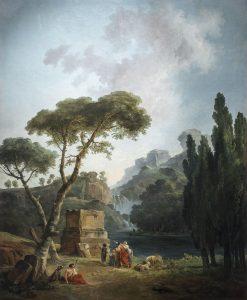 Les Bergers d'Arcadie - Hubert Robert