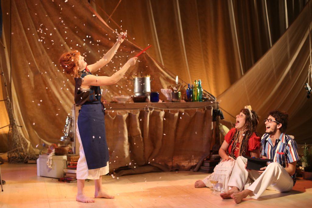 Avignon off : «Tempête !» d'après Shakespeare, adaptation & mise en scène Irina Brook au Théâtre des Carmes
