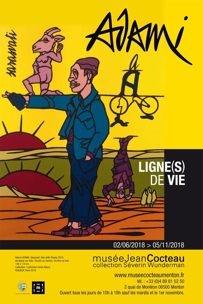 Valerio Adami à l'honneur au Musée Jean Cocteau de Menton