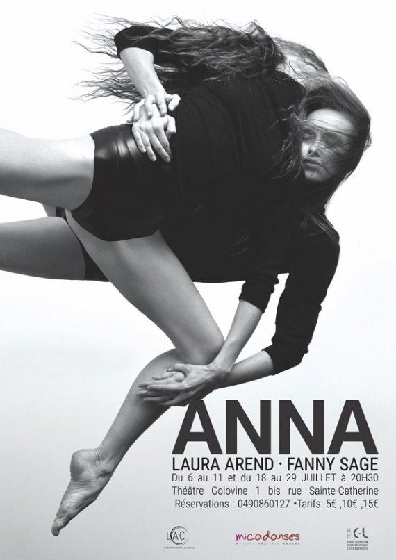 « Anna » au Off d'Avignon : duo dansé pour un requiem féministe