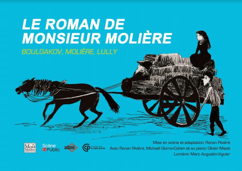 Avignon Off : « Le Roman de Monsieur Molière », une pièce vive et enjouée