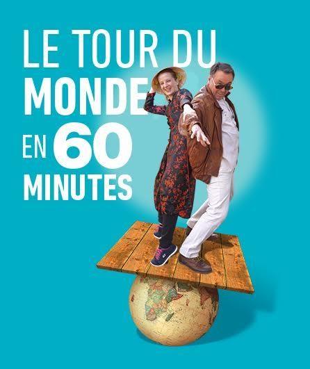 Avignon Off : « Le tour du monde en 60 minutes », rien ne vaut le pouvoir de l'imagination