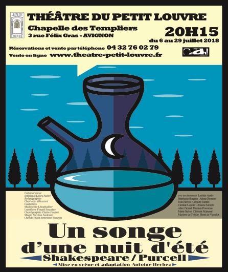Avignon Off : « Un songe d'une nuit d'été, Shakespeare / Purcell », Obéron joue les trublions à la chapelle des Templiers
