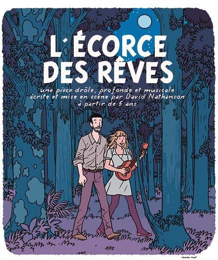 «L'écorce des rêves», David Nathanson rit de la mort au Off d'Avignon