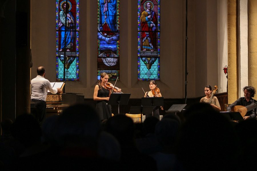 Les Surprises, ensemble invité de Bach en Combrailles