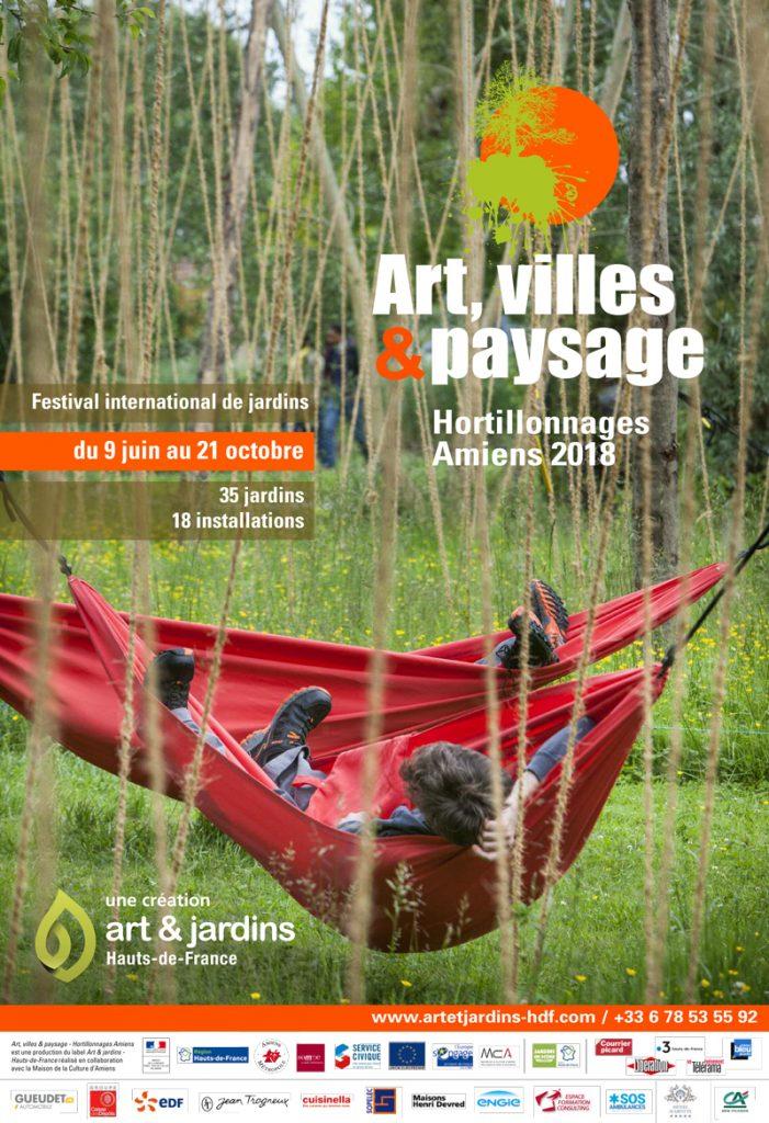 Art et nature aux hortillonnages d'Amiens
