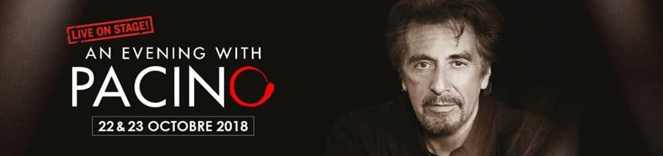 Al Pacino invité d'honneur du Théâtre de Paris cet octobre