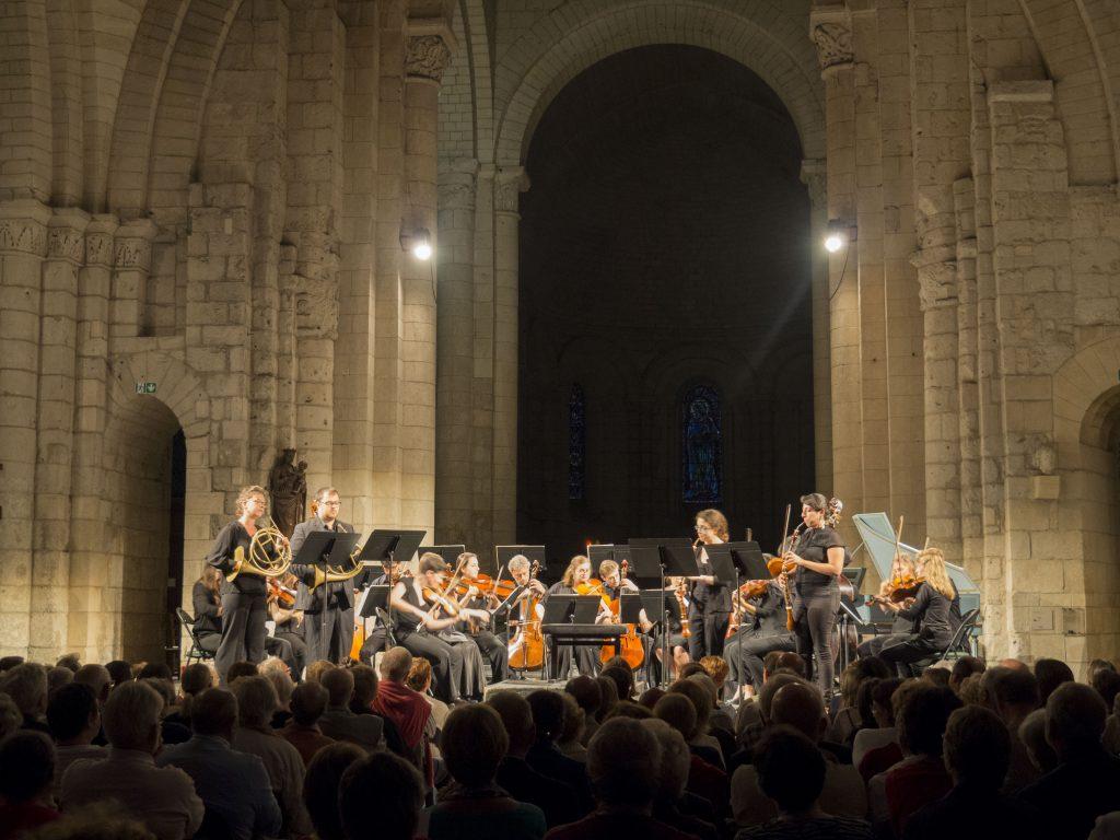 Raphaël Pidoux et le Jeune Orchestre de l'abbaye aux Dames de Saintes : une magnifique collaboration