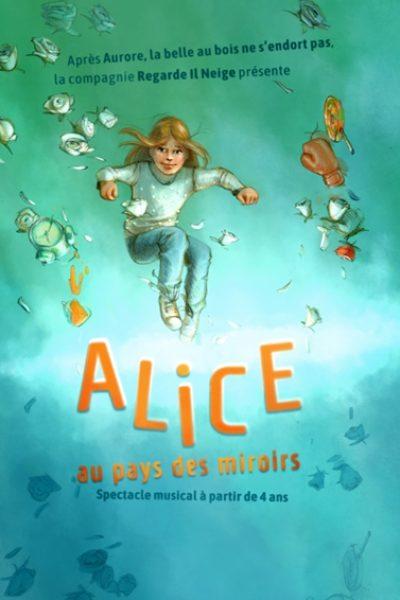 Alice au pays des miroirs, la quête du Moi de Gaëlle Hispard et Mathieu Gerhardt