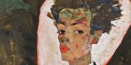 egon-schiele-autoportrait-au-motif-de-paon