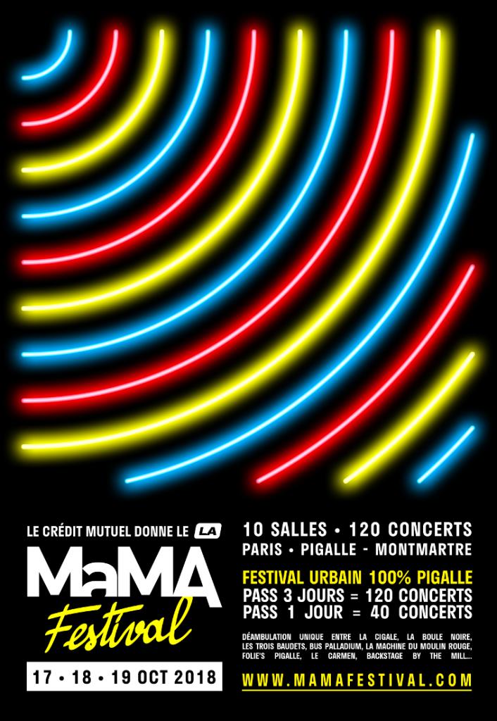 Playlist Partenaire – le MaMA (17-19 oct.)