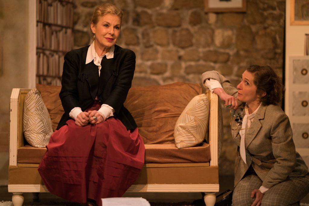 Magique rencontre avec Elsa triolet au Théâtre de Nesle