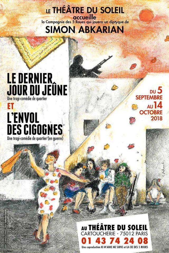 CHEF D'OEUVRE  : Le dernier jour du jeûne de Simon Abkarian au Théâtre du Soleil