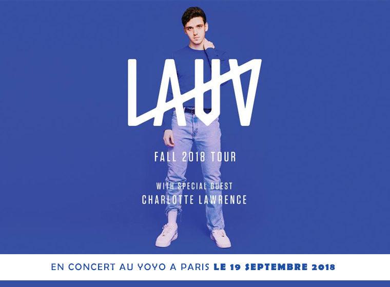 Gagnez 2X2 places pour le concert de LAUV – le 19 septembre au Yoyo