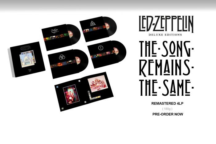 Led Zeppelin « The Song Remains The Same »  : Une édition super deluxe pour fêter  les 45 ans de l'album !