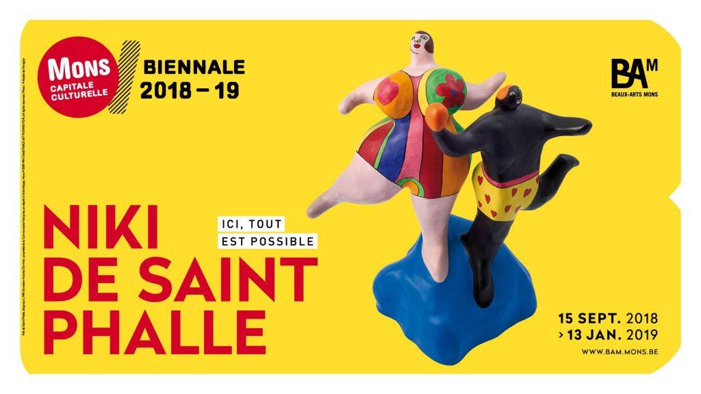 La première grande rétrospective belge sur Niki de Saint Phalle ouvre la Biennale de Mons, Capitale Culturelle, ce week-end