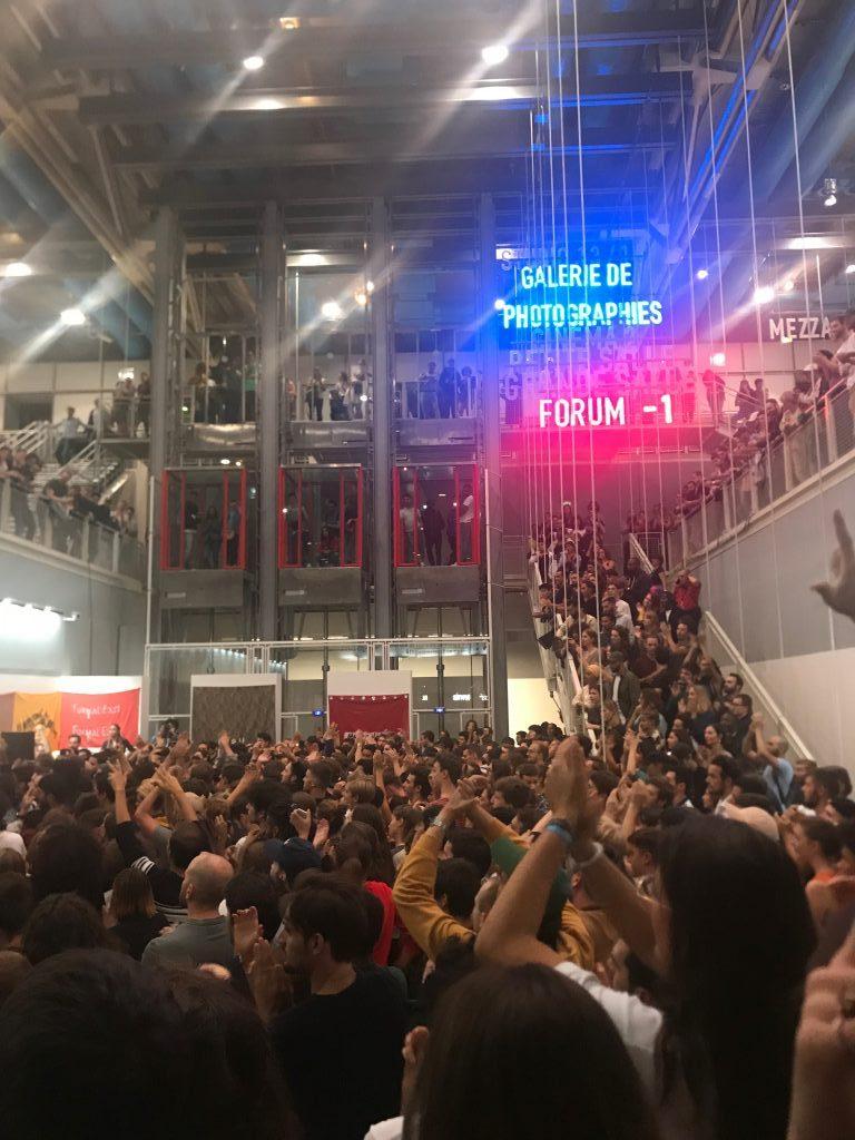 Carton plein pour Extra ! et le concert de Jazzy Bazz au Centre Pompidou