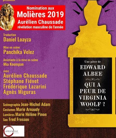 Avignon OFF, une magnifique Martha dans «Qui a peur de Virginia Woolf»