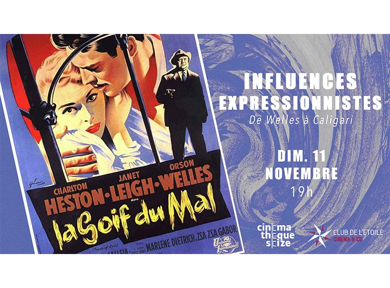 Gagnez 5×2 places pour la Soirée Influences expressionnistes de Welles à Caligari: «La Soif du Mal»