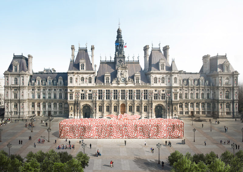 Le furoshiki emballe Paris